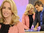 'It was just terrible': Camille Grammer opens up about physical abuse... but reveals she's 'feeling great' after cancer surgery on Dr Oz Show