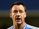 Staying power: John Terry (left) is unlikely to want to leave Chelsea in January