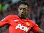 Injured: Danny Welbeck could be forced into knee surgery that will keep him out for another five weeks