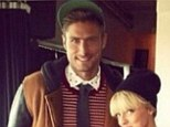 Dodgy: Olivier Giroud has been trying on some odd clobber during his time away from Arsenal