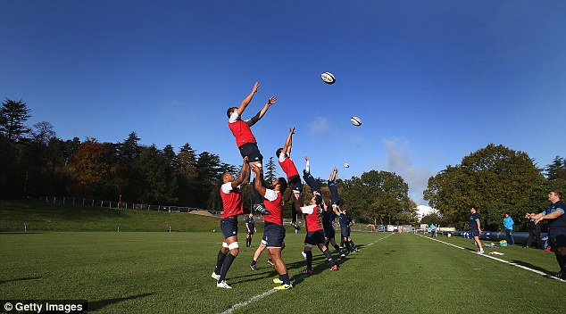 Tall order: New Zealand are overwhelming, odds on favourites to beat Stuart Lancaster's men