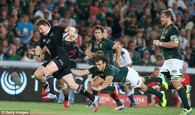 Force: New Zealand come to England having won the Rugby Championship in South Africa last month