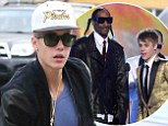 Police called out to Justin Bieber's house after noise complaints flood in over 'wild party with Snoop Lion'