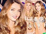 'I had no idea!' Miranda Kerr admits her Victoria's Secret Instagram picture was Photoshopped to make her look thinner but claims it was a mistake