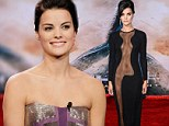'There was something under there:' Jaimie Alexander denies going commando under revealing Thor premiere dress and reveals it was held in place with toupee tape