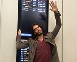 Banned: Russell Brand was refused entry to South Africa twice by government authorities