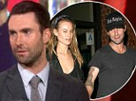 'It's an interesting idea': Adam Levine remains coy about People Sexiest Man Alive rumours... but reveals he and Behati Prinsloo are close to setting wedding date