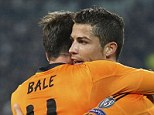 New star in town: Ronaldo and Gareth Bale have shown glimpses of their talent under Carlo Ancelotti