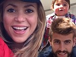 No wonder she wants more children! Shakira shares pictures of adorable son Milan after revealing plans to expand family