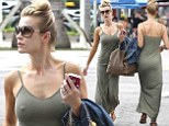 Can yours do this, Brandi? Joanna Krupa goes braless in extremely tight dress for Miami stroll with Romain Zaga
