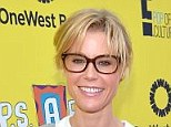 Specs appeal! Casually dressed Julie Bowen dons thick rimmed glasses at P.S. Arts Express Yourself event