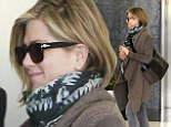 Taking a little 'me' time! Jennifer Aniston and her new haircut head to a Beverly Hills spa for a day of pampering