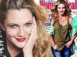 Drew Barrymore in December issue of Women's Health magazine