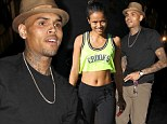 Well that was easy! Chris Brown returns to Hollywood nightlife for the second night in a row with Karrueche Tran after exiting anger rehab centre