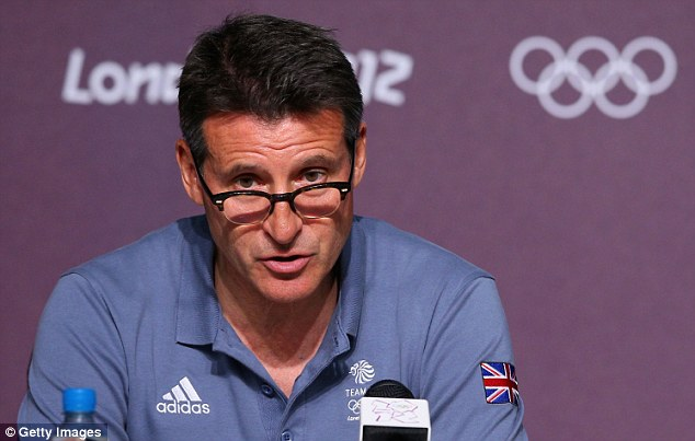 Leading light: Lord Sebastian Coe has been at the forefront of British Athletics