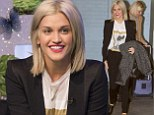 Ashley Roberts makes an appearance on ITV1 show This Morning