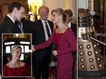 Four Time Lords in total - Matt Smith, Tom Baker, Peter Davison and John Hurt - were in attendance at the event hosted by the Countess of Wessex