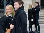 Lara Bingle and Sam Worthington can't keep hands off each other during romantic stroll in Paris
