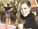 Happy to be here! Khloe Kardashian put on a brave face as she launched the Kardashian Kollection for Lipsy in Dubai, United Arab Emirates on Sunday