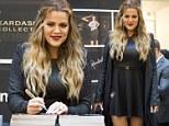 Well, she is due a bit of fun! Khloe Kardashian shrugs off marriage woes to showcase blonder locks in Amsterdam