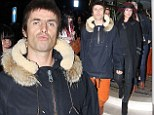 It's date night for Liam Gallagher and he's made an effort in the fashion stakes for his new girlfriend Debbie Gwyther who dined in Manchester on Sunday night.