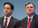 Miliband fears Balls has given a hostage to fortune by predicting the economy would continue to flatline, leading to a double dip recession. Another fear may be that Balls isn't pulling his weight for a Miliband victory in 2015
