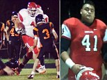 A high school senior from an Indian reservation in Washington State is believed to be the largest college football player in the country.