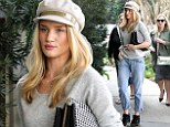 Supermodel Rosie Huntington-Whiteley