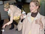 Least it's not the baby this time! Peaches Geldof drops milk bottle ahead of appearance on This Morning