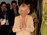Celebrations: The Duchess of Cornwall said Prince Charles likes cake and a bit of a sing-song on his big day