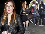 Like mother, like daughter! Rumer Willis rocks thigh high suede boots while Demi Moore steps out in on trend ankle grazers