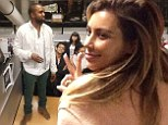 'My baby speaking at Harvard!¿ Proud Kim Kardashian shares picture of Kanye West addressing students at Harvard University