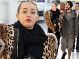 Miley Cyrus has only been in Europe for a couple of weeks but boy did she left her mark! Now the 20-year-old is jetting back to America covered up