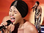 X Factor bosses threatened to cut Miley Cyrus¿ performance after the saucy star refused to pre-record it, but sadly the star failed to rebel