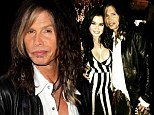 Just friends? Steven Tyler cosied up with Playboy model Carla Howe as the two attended The Sunset Marquis 50th Anniversary Party in West Hollywood, California on Saturday