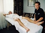 Laid back: Masseuse Emma O'Reilly revealed she shared a close relationship with Lance Armstrong