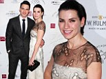 Television star: Julianna Margulies shined on Sunday at the New York Stage and Film annual winter gala in New York City