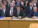 (L - R) Andrew Parker, the head of M15; John Sawers, the head of M16 and Iain Lobban