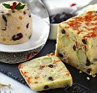 The taste of Christmas - in a cheese!