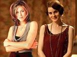 Rachel from Friends and Lady Mary Crawley topped the charts when women were asked who they'd like to be