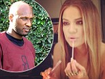 Naked ambition! Khloe Kardashian posts 'topless shot' of herself on Instagram... as her husband Lamar Odom 'agrees to undergo drug testing' for NBA contract