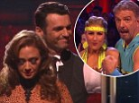 Throne off! King of Queens star Leah Remini eliminated from Dancing With The Stars... but Bill Engvall avoids the chop despite dismal performance in semi-finals