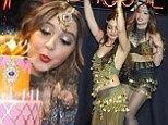 Double trouble! Vanessa Hudgens helps little sister Stella celebrate 18th birthday with Bollywood themed bash