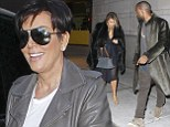 Kris Jenner 'hopes Kim Kardashian and Kanye West will marry next year'... but no dress has yet been picked