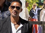 Will Smith enjoys a day out at the polo with Argentine model