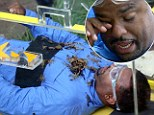 Don't cry, Carlton! Fresh Prince star Alfonso Ribeiro is left in tears after his very FIRST Bushtucker Trial on I'm A Celebrity