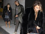 Kim and Kanye dine out in Philadelphia before Yeezus tour reboots