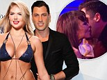 Split already? Kate Upton and Maksim Chmerkovskiy 'spend time apart' just as he's seen getting a kiss from ex Karina Smirnoff