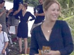 Rachel McAdams shoots funeral scene for new movie in Hawaii as she turns 35