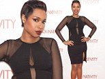 Fashion faux pas! Jennifer Hudson detracts from her edgy, daring LBD with unfortunate visible nude bra straps at her film premiere
